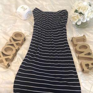 Forever 21 strapless maxi dress